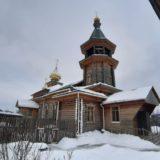 Епископ Алексий совершил воскресное богослужение в посёлке Восточный