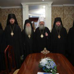 Владыка Кирилл возглавил заседание Архиерейского совета Екатеринбургской митрополии