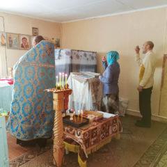 Богослужение в поселке Андриановичи