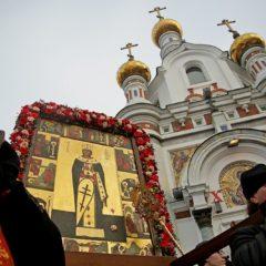 Архиерейская литургия и праздничный крестный ход пройдут в Екатеринбурге в День святой Екатерины