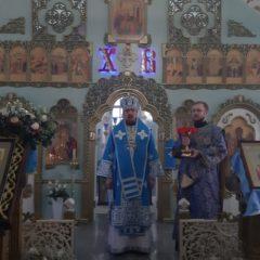 В день празднования Введения во храм Пресвятой Богородицы епископ Алексий совершил Божественную Литургию