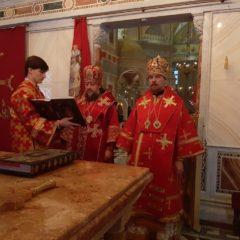 Епископ Гедеон и епископ Алексий совершили Литургию в день памяти святого благоверного князя Александра Невского