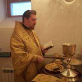 Епископ Алексий совершил Божественную литургию в Свято-Пантелеимоновском монастыре