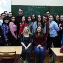 В Серове состоялась очередная встреча студентов со священником