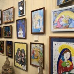 В Краснотурьинске проведен конкурса детского декоративно-прикладного творчества «Христос рождается — славите»