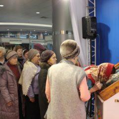 Молебном на начало благого дела открылась XV Международная православная выставка-ярмарка «Русь крещеная, Святая…»