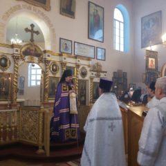 Епископ Алексий совершил Божественную литургию в храме во имя Пророка Илии города Серова