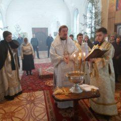 В праздник Богоявления епископ Алексий совершил Божественную литургию в храме во имя первоверховных апостолов Петра и Павла