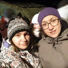 Волонтеры молодёжного отдела помогали на дежурстве в праздник Крещения Господня