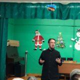 Священник Георгий Мартынов посетил Серовское отделение Всероссийского общества слепых