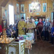 В сосьвинском храме состоялся молебен с освящением семян