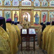 Епископ Алексий совершил Литургию в день празднования иконы Божией Матери «Иверская»