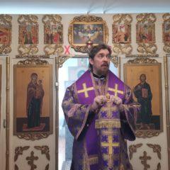 Епископ Алексий совершил Божественную литургию в храме в честь Вознесения Господня, пос.Полуночное