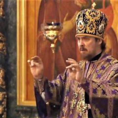 Епископ Алексий совершил Божественную литургию в Свято-Троицком кафедральном соборе Екатеринбурга