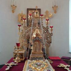 В День праздника иконы «Умиление» епископ Алексий совершил Литургию Преждеосвященных Даров