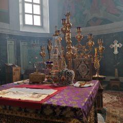 Епископ Алексий совершил Литургию Преждеосвященных Даров в Соборе Преподобного Максима Исповедника