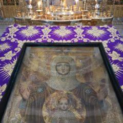 Епископ Алексий совершил утреню с чтением акафиста Пресвятой Богородице