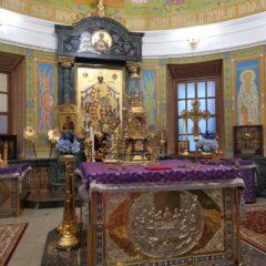 Епископ Алексий совершил всенощное бдение в канун дня памяти Марии Египетской