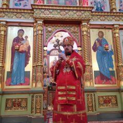 Епископ Алексий совершил Божественную литургию в день памяти равноапостольных Мефодия и Кирилла