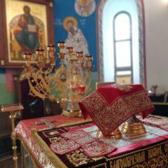 Епископ Алексий совершил Божественную литургию в день памяти святого Симеона Верхотурского