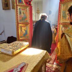 Епископ Алексий совершил всенощное бдение накануне дня памяти Всех святых, в земле Русской просиявших