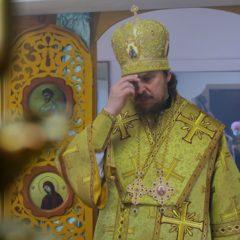 Епископ Алексий совершил Божественную литургию в Свято-Николаевском храме в Североуральске