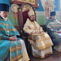 Епископ Алексий совершил Божественную литургию в день празднования в честь Владимирской иконы Богородицы