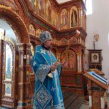 Епископ Алексий совершил Божественную литургию в Свято-Пантелеимоновском женском монастыре