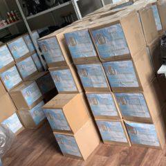 Гуманитарная помощь от Фонда святой Екатерины. В Серовскую епархию поступило более 600 продуктовых наборов