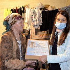 Более 20 коробок с продовольствием отправлены в Карпинск и Сосьву