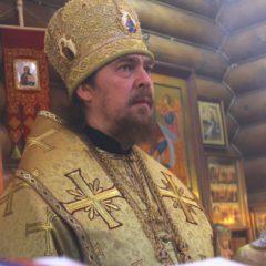 Епископ Алексий совершил Божественную литургию в храме великомученика Георгия Победоносца в Североуральске