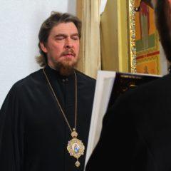 Епископ Алексий совершил всенощное бдение в Свято-Максимовском соборе