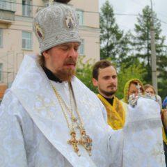В день Преображения Господня в кафедральном соборе состоялся престольный праздник