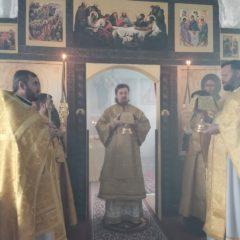 Епископ Алексий совершил Божественную литургию в день памяти прп. Саввы Сторожевского