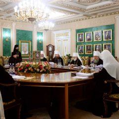 Ситуацию в Республике Беларусь обсудили на заседании Священного Синода Русской Православной Церкви