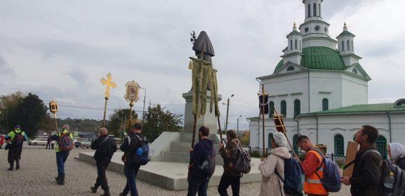 «В молитве и с любовью к уральскому святому»: Симеоновский крестный ход начался в Екатеринбургской митрополии
