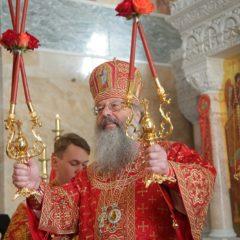 Митрополит Кирилл совершил Божественную литургию в Ново-Тихвинской обители