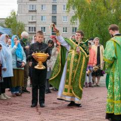 Престольный праздник в Максимовском соборе