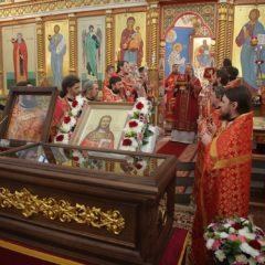 Мощи священномученика Александра Адрианова впервые выставлены для почитания в Екатеринбургской митрополии