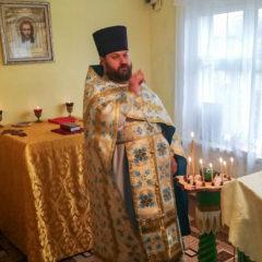 Торжественное богослужение в Покровском приходе поселка Андриановичи в честь праздника Покрова Пресвятой Богородицы