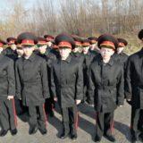 Юные новобранцы кадетской школы г. Серова приняли кадетскую присягу