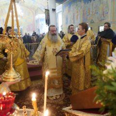Митрополит Кирилл совершил Божественную литургию в Свято-Троицком кафедральном соборе