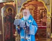 Патриаршая проповедь в Неделю 24-ю по Пятидесятнице после Литургии в Александро-Невском скиту