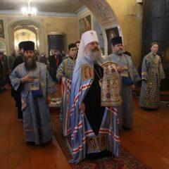 Митрополит Кирилл совершил Божественную литургию в храме во имя Георгия Победоносца Первоуральского церковного округа