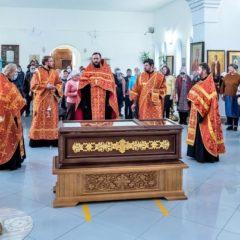 Перенесение мощей священномученика Александра Нижнетуринского