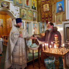 В Никольском храме п. Сосьва прошли торжества Рождества Христова