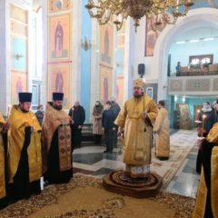 Епископ Алексий совершил Всенощное бдение накануне Недели о блудном сыне