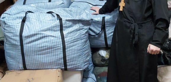 155 килограмм вещей от многодетной мамы из Мурманской области