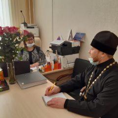 Рабочая встреча с директором школы
