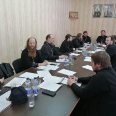 На собрании епархиального совета обсудили итоги первых месяцев 2021 года и планы на грядущие